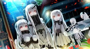 Rating: Safe Score: 56 Tags: airfield_hime ginhaha kantai_collection northern_ocean_hime seaport_hime wo-class_(kancolle) User: FormX