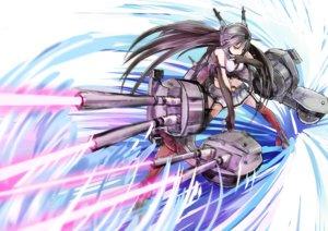 Rating: Safe Score: 75 Tags: anthropomorphism fu-ta kantai_collection nagato_(kancolle) weapon User: FormX