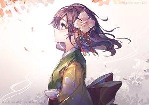 Rating: Safe Score: 52 Tags: hieda_no_akyuu leaves purple_hair touhou unity_(ekvmsp02) User: FormX
