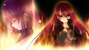 Rating: Safe Score: 104 Tags: 2girls crying red_eyes red_hair shakugan_no_shana shana tears yoshida_kazumi User: Nnyuu