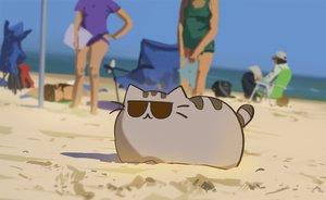 Rating: Safe Score: 141 Tags: animal cat original pusheen snatti sunglasses User: mattiasc02