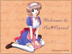 Rating: Safe Score: 14 Tags: gray_eyes pia_carrot r tagme thighhighs waitress User: Oyashiro-sama