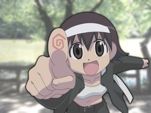 Rating: Safe Score: 9 Tags: azumanga_daioh takino_tomo User: 秀悟