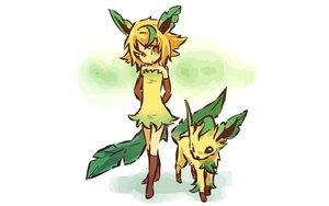 Rating: Safe Score: 88 Tags: hitec leafeon moemon pokemon User: 秀悟