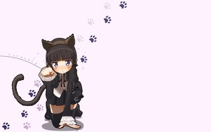 Rating: Safe Score: 97 Tags: animal_ears ao_yasai black_hair blue_eyes blush bow gokou_ruri goth-loli headband lolita_fashion ore_no_imouto_ga_konna_ni_kawaii_wake_ga_nai ribbons tail thighhighs User: SciFi