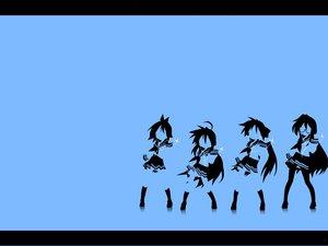 Rating: Safe Score: 14 Tags: hiiragi_kagami hiiragi_tsukasa ipod izumi_konata lucky_star polychromatic silhouette takara_miyuki User: Oyashiro-sama