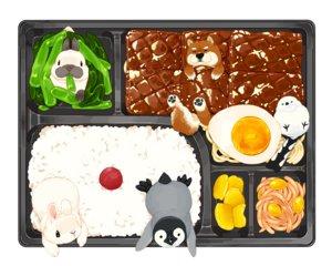 Rating: Safe Score: 10 Tags: animal bird dog food lilac_(pfeasy) nobody original penguin rabbit waifu2x User: otaku_emmy