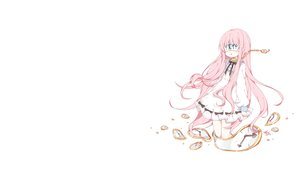 Rating: Safe Score: 50 Tags: blindfold chain collar dress loli lolita_fashion long_hair original pink_hair signed tagme_(artist) third-party_edit white User: Dummy