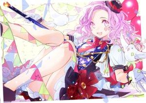 Rating: Safe Score: 48 Tags: animal bird bow chain gloves guilty_crown hat long_hair pink_eyes pink_hair tagme_(artist) yuzuriha_inori User: RyuZU