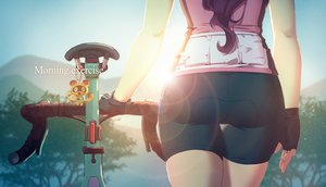 Rating: Safe Score: 62 Tags: ass bicycle bike_shorts doubutsu_no_mori gloves original shorts tienao User: gnarf1975