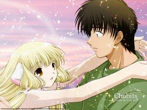 Rating: Safe Score: 11 Tags: blonde_hair brown_eyes chii chobits clamp motosuwa_hideki User: Oyashiro-sama