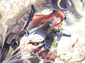 Rating: Safe Score: 53 Tags: arknights bagpipe_(arknights) cow-ring gloves horns long_hair orange_hair purple_eyes thighhighs weapon User: Nepcoheart