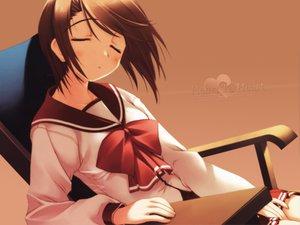 Rating: Safe Score: 9 Tags: amaduyu_tatsuki aquaplus komaki_manaka leaf to_heart to_heart_2 User: Oyashiro-sama
