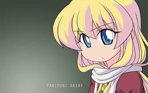 Rating: Safe Score: 26 Tags: blonde_hair blue_eyes gray long_hair pani_poni_dash rebecca_miyamoto scarf vector User: Oyashiro-sama