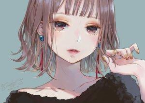 Rating: Safe Score: 54 Tags: blue brown_eyes brown_hair close lma original short_hair signed User: otaku_emmy