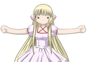 Rating: Questionable Score: 20 Tags: chii chobits dress long_hair User: gnarf1975