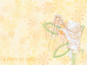 Rating: Safe Score: 25 Tags: chii chobits clamp dress long_hair User: 秀悟