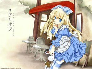 Rating: Safe Score: 32 Tags: alice_(wonderland) alice_in_wonderland blonde_hair blue_eyes dress lolita_fashion miyashita_miki signed vector User: 秀悟
