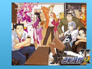 Rating: Questionable Score: 13 Tags: gyakuten_saiban phoenix_wright tagme User: 秀悟