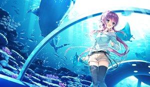 Rating: Safe Score: 237 Tags: animal ashishun fish game_cg kokonoka komagata_yuzuki marmalade primal_x_hearts sasorigatame tagme water User: opai