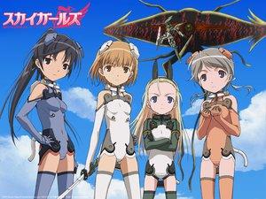 Rating: Safe Score: 18 Tags: elise_von_dietrich ichijo_eika sakurano_otoha sky_girls sonomiya_karen sword weapon User: 秀悟