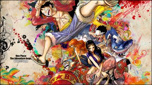 Rating: Questionable Score: 63 Tags: franky monkey_d_luffy nami nico_robin one_piece usopp User: Mund