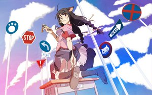 Rating: Safe Score: 35 Tags: animal_ears bakemonogatari catgirl hanekawa_tsubasa monogatari_(series) seifuku User: pantu