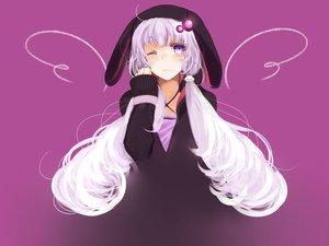 Rating: Safe Score: 69 Tags: animal_ears hoodie long_hair piku_(pikumin) twintails vocaloid voiceroid yuzuki_yukari User: FormX