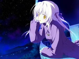 Rating: Safe Score: 7 Tags: game_cg hoshizora_no_memoria tagme white_hair User: 秀悟