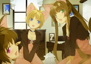 Rating: Questionable Score: 51 Tags: animal_ears catgirl maruku tagme User: w7382001