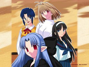 Rating: Questionable Score: 4 Tags: arcueid_brunestud ciel ren shingetsutan_tsukihime tohno_akiha User: 秀悟