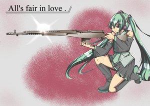 Rating: Safe Score: 25 Tags: gun hatsune_miku twintails vocaloid weapon User: HawthorneKitty
