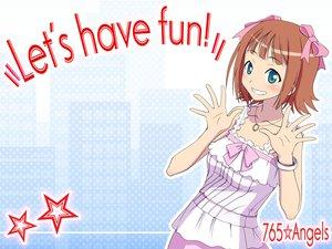 Rating: Safe Score: 15 Tags: amami_haruka idolmaster User: pantu