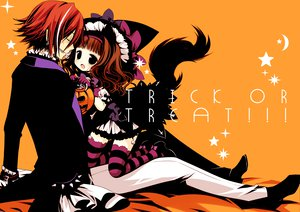 Rating: Safe Score: 36 Tags: animal_ears brown_hair foxgirl long_hair male original red_hair sakurazawa_izumi short_hair tagme tail thighhighs User: opai