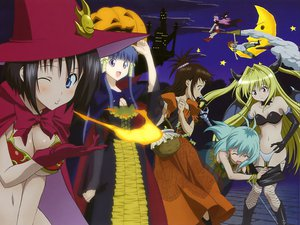 Rating: Questionable Score: 59 Tags: golden_darkness halloween kirisaki_kyouko lala_satalin_deviluke loli magical_kyouko murasame_oshizu navel night run_elsie_jewelria sairenji_haruna scan tagme to_love_ru underwear yuuki_mikan yuuki_rito User: gnarf1975