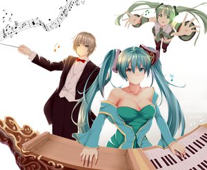 Rating: Safe Score: 75 Tags: hatsune_miku hews league_of_legends sona_buvelle vocaloid User: gnarf1975