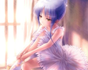 Rating: Safe Score: 48 Tags: angel_beats! cropped dress goto_p purple_hair scan tachibana_kanade white_hair yellow_eyes User: mattiasc02