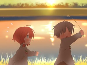 Rating: Safe Score: 11 Tags: amagahara_inaho happy_magarette kokonoka User: 秀悟