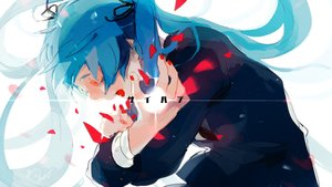 Rating: Safe Score: 41 Tags: hatsune_miku long_hair ruu_wan_mm saihate_(vocaloid) vocaloid User: FormX