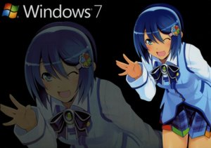 Rating: Safe Score: 18 Tags: blue_eyes blue_hair bow madobe_nanami microsoft os-tan short_hair skirt thighhighs windows wink zoom_layer User: Kumacuda