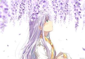Rating: Safe Score: 27 Tags: flowers green_eyes hat index long_hair mikemaru_(pixiv17800264) petals signed to_aru_majutsu_no_index white_hair User: otaku_emmy