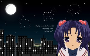 Rating: Safe Score: 6 Tags: clannad ichinose_kotomi moon night User: 秀悟