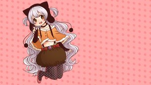 Rating: Safe Score: 6 Tags: bow charlotte_(mahou_shoujo_madoka_magica) gray_hair loli long_hair mahou_shoujo_madoka_magica navel pantyhose vector User: RyuZU