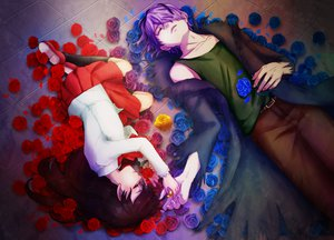 Rating: Safe Score: 62 Tags: flowers gary_(ib) ib ib_(ib) rose sora_k User: FormX