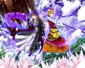 Rating: Safe Score: 42 Tags: 2girls gayprince hijiri_byakuren toramaru_shou touhou User: Katsumi
