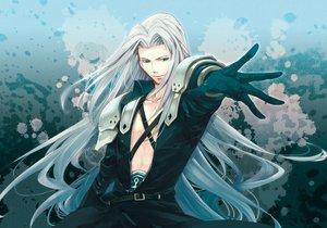 Rating: Safe Score: 72 Tags: blue_eyes final_fantasy final_fantasy_vii long_hair sephiroth User: rlyeh