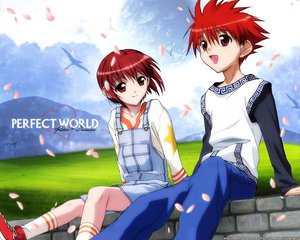 Rating: Safe Score: 0 Tags: dnangel harada_riku niwa_daisuke petals red_eyes red_hair User: Oyashiro-sama