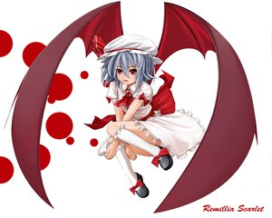 Rating: Safe Score: 13 Tags: remilia_scarlet touhou white wings User: Tensa