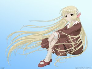 Rating: Questionable Score: 11 Tags: chii chobits User: gnarf1975
