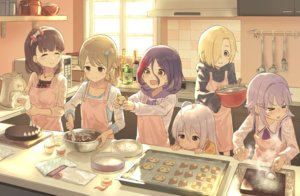 Rating: Safe Score: 41 Tags: apron bionekojita blonde_hair bow brown_eyes brown_hair cake chocolate drink fang food group hayasaka_mirei headband idolmaster idolmaster_cinderella_girls koshimizu_sachiko loli purple_hair sakuma_mayu shirasaka_koume short_hair tagme_(character) valentine white_hair User: RyuZU